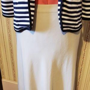 Long Dressy Khaki Skirt